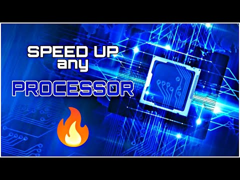 How To Speed Up The Processor of Any PC / Laptop
