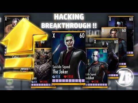 How to hack PROMOTION X & LEVEL 60 without playing breakthrough !! Injustice - android/ ios