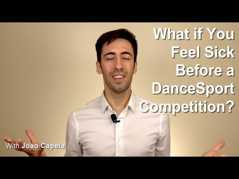 What If You Feel Sick Before a DanceSport Competition