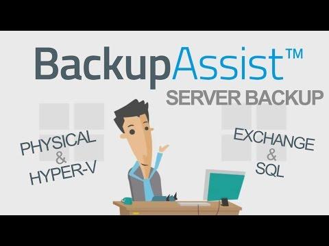 BackupAssist Server Backup: The 90 Second Overview