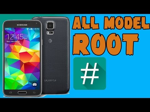 How To Root Samsung Galaxy S5 All Model SM-G900F/V...