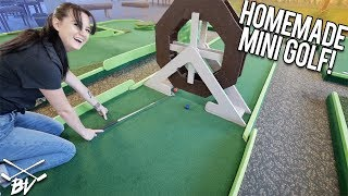 WE FOUND AN AWESOME HOMEMADE MINI GOLF COURSE! | Brooks Holt