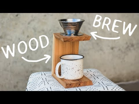 How To Make A Pour Over Coffee Stand