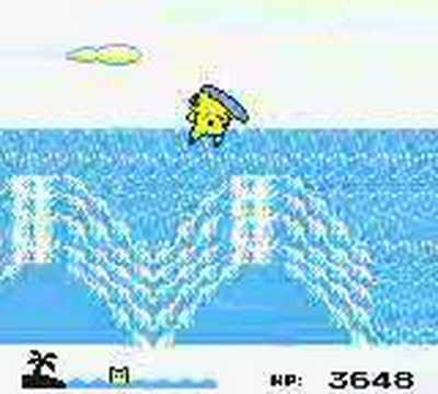 Pokemon Yellow: Surfing Pikachu Beach mini game 7599 pts TAS