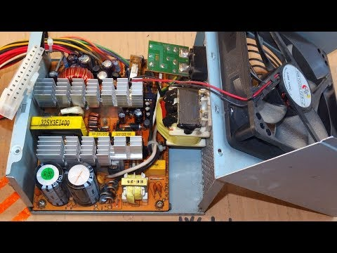 How To Repair a Computer Power Supply (or other switching power supply)