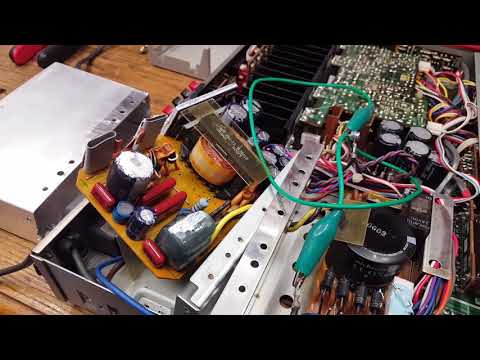 A closer look at the Pulse Power Supply of the Sony TA-V5 amplifier