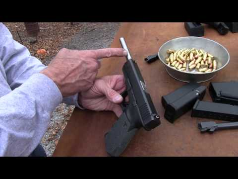 Lone Wolf 9-inch barrels in Glock 20 and Glock 21