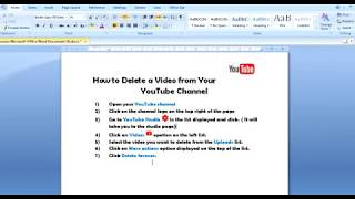 Tutorial on How to Delete a Video from your YouTube Channel in 2020