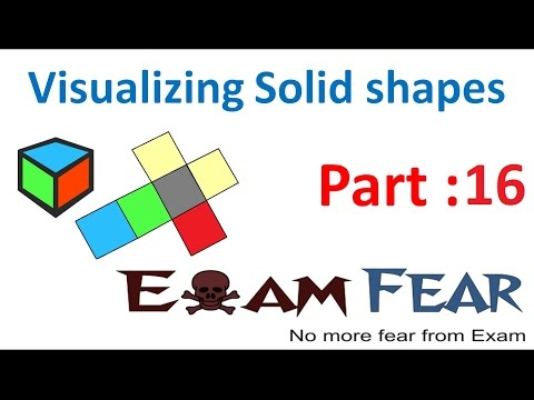 Maths Visualizing Solid Shapes part 16 (Shadows of 3D Shapes) CBSE Class 7  Mathematics VII