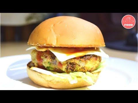 Crispy Veggie Burger │Episode 107│ I'll Eat For Food