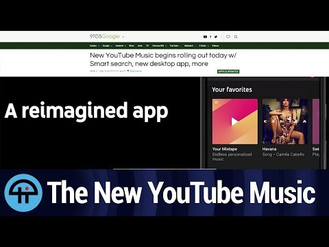 The New YouTube Music