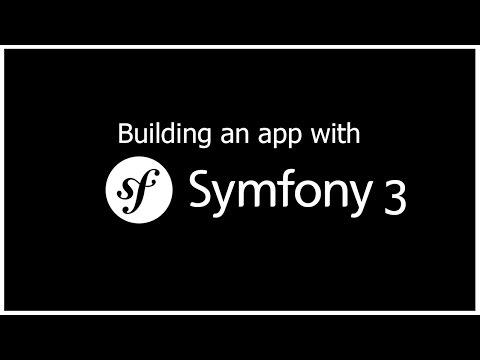 Building a Symfony 3 App - Part 1