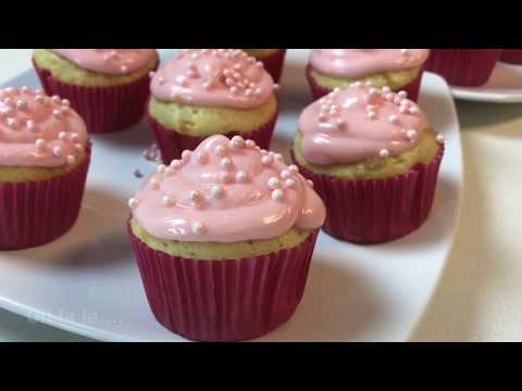 Easy Cupcakes with Cream Cheese Frosting ♥️ (HOW TO)