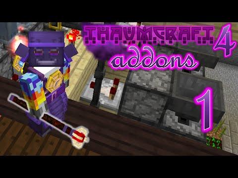 Minecraft - Thaumcraft 4 Addons #1 - Thaumic Tinkerer