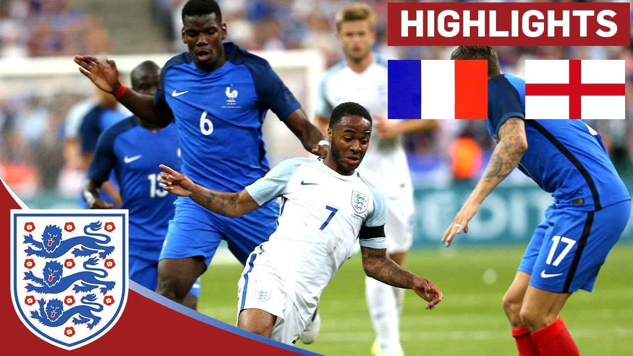 England Struggle to Keep out 10-Man France in Paris | France 3 - 2 England | Official Highlights
