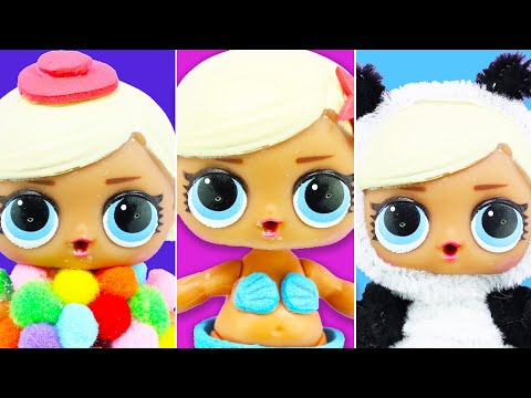 5 DIY LOL Surprise Doll Custom | No Clay, No Painting, No Sewing! | 5 minutes craft