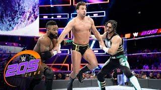 Cedric Alexander & Mustafa Ali vs. Drew Gulak & Ariya Daivari:  WWE 205 Live, Dec. 26, 2017