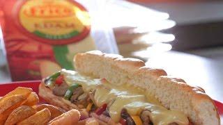 فيلي تشيز ستيك من مطبخ سمر و فريكو  Frico Cheese