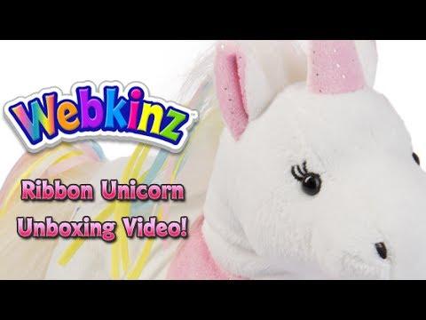 Webkinz Ribbon Unicorn Unboxing - NEW Pet July 2017!