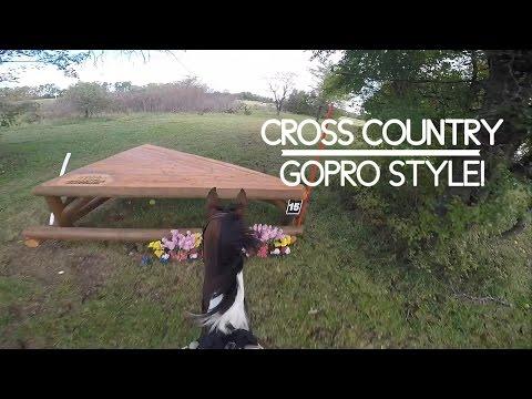 Training Level Cross Country Course || GOPRO HEADCAM