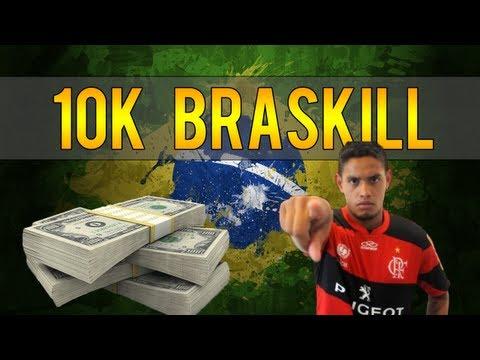 FIFA 14 - Cheap 10k Brazil 5 Star Skill Team | Squad Builder #1