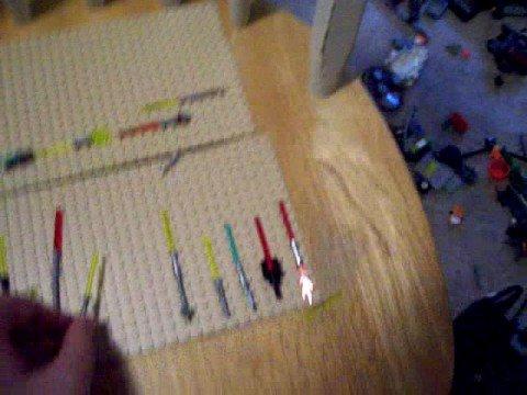 custom lego star wars lightsabers