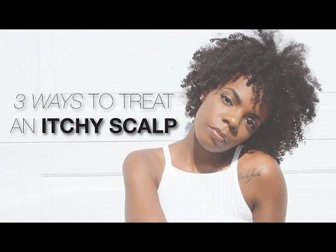 3 Ways to Treat an Itchy Scalp | Natural Hair Problems