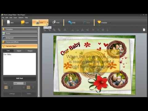 Using Fuss Free Torn Digital Scrapbooking Templates Digital