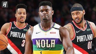 New Orleans Pelicans vs Portland Trail Blazers - Full Highlights | February 21 | 2019-20 NBA Season