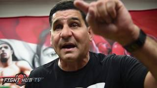 "ANGEL GARCIA ""WE NEED TO STOP THE BULLSH*T IN BOXING! CHANGE THIS SH*T!"""