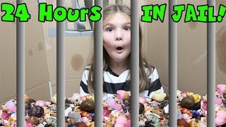 Download 24 Hours In Box Fort Jail With ALL My LOL Dolls! 24 Hours Overnight In Box Fort Jail Challenge! Video