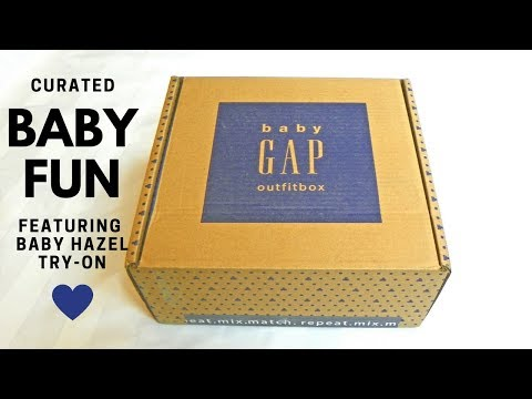 Baby Gap Outfit Box- Unboxing, Review, & Try-On