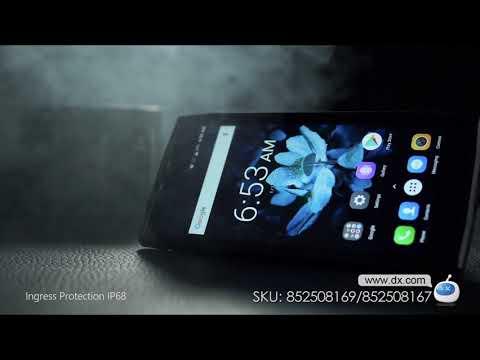 DOOGEE S50 Full Screen IP68 Waterproof 4G Phone w/ 6GB RAM, 128GB ROM - Black