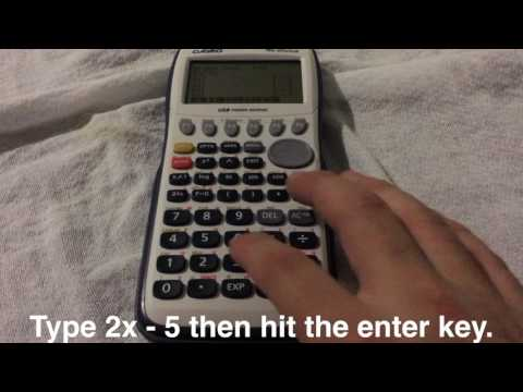 Graphing Linear Equations with fx-9750GII