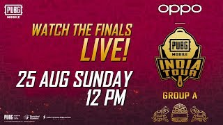 Finals - [HINDI] OPPO X PUBG MOBILE India Tour Group A - Live from Jaipur