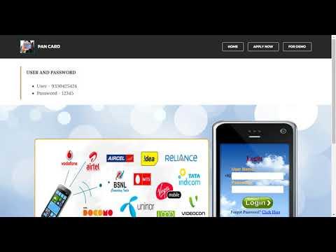 PAN CARD AGENT Distributor , Retailer & API