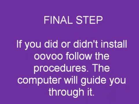 how to make an oovoo account