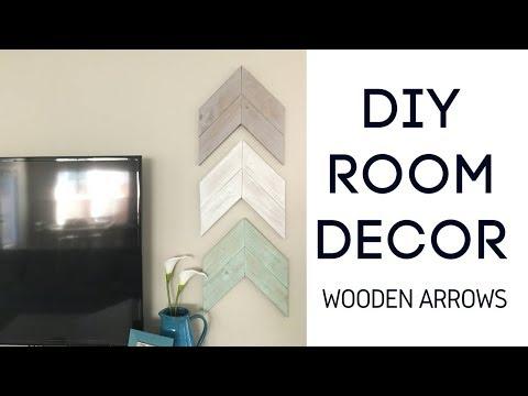 DIY Room Decor - Wooden Arrows | $4 Lumber