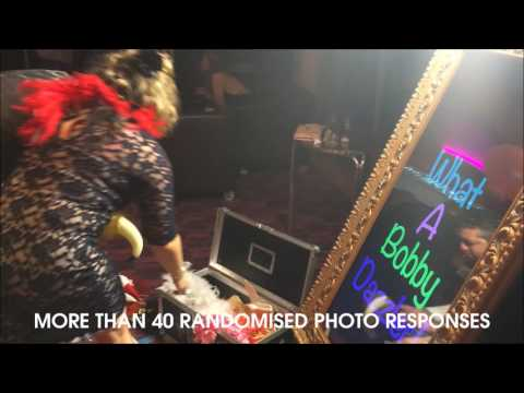 Magic Mirror photo booth Hire UK | Corporate events Parties Wedding event exhibition stand