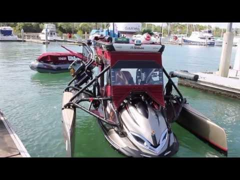 Rick van van Groningen 'Wilson' jet ski