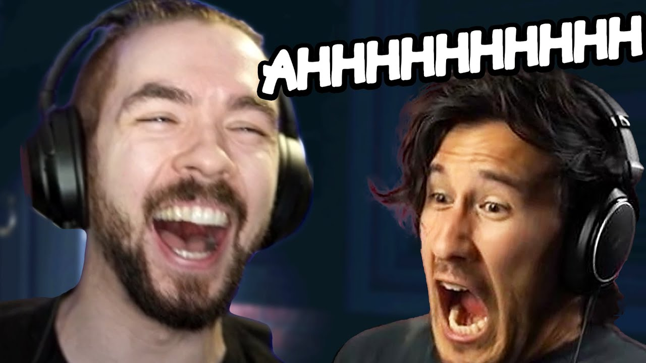 Laughing Uncontrollably At Markiplier's MISERY | Phasmophobia