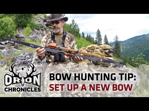 Bow Hunting Tip | How to Set Up A Bear Takedown Bow