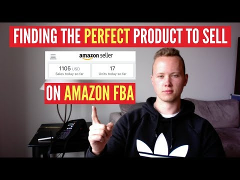 How To FIND The PERFECT PRODUCT To Sell On Amazon FBA (Step-by-Step Tutorial)