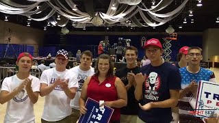 RSBN LIVE report From Wilmington, OH at the Donald Trump Rally