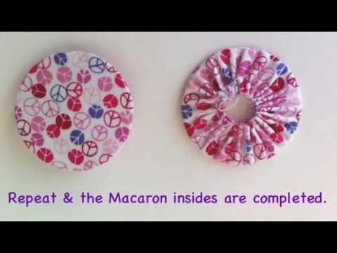 Macaron Coin Purse Tutorial