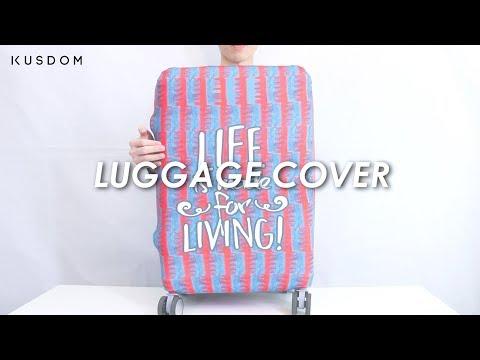 Luggage Cover - Design Your Own