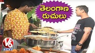 Bithiri Sathi Visits Telangana Food Festival At Peoples Plaza Teenmaar News