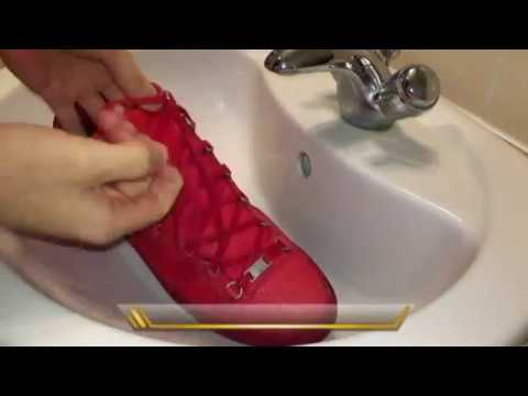 How to clean Balenciaga arena / Luxury sneakers and trainers