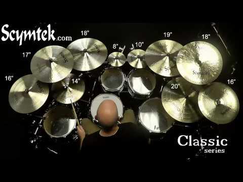 Scymtek Cymbals-Classic Series, Brian Spaun Demo