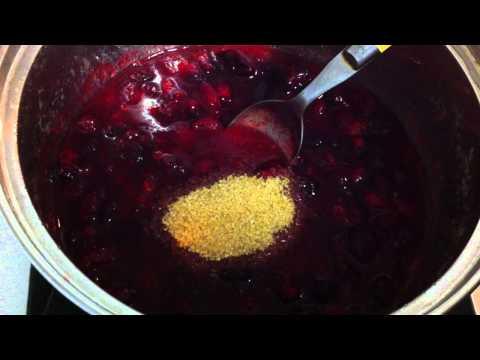 Cranberry sauce / Christmas cranberry sauce